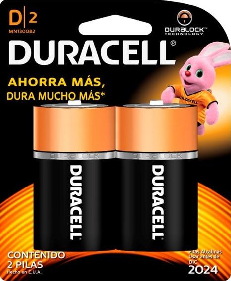 Bateria Duracell Cb D 1x2und