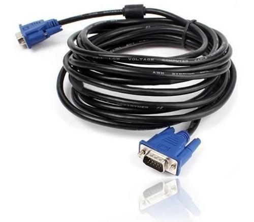 Cable De Video Vga A Vga 10mts Para Pc Tv Video Beam Laptop