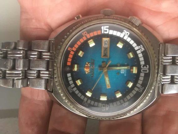 Relógio Oriente Sea King Sk Automático Perfeita(baixou)