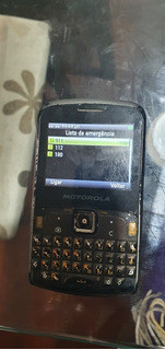 Celular Motorola Ex115 Funcionando