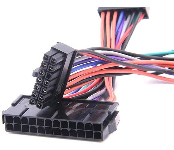 Cable Adaptador Atx Fuente Poder De 24 Pines A 14 Psu *15dls
