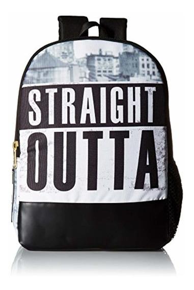 Mojo Mojo Straight Outta Brooklyn Backpack, Su Texto Aquí