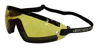 Goggles Para Motociclista Marca Bobster Modelo Wraparound