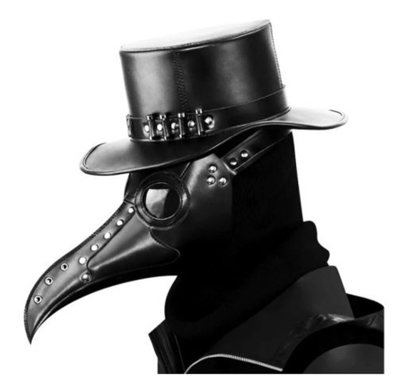 Máscara De Médico De La Peste Negra