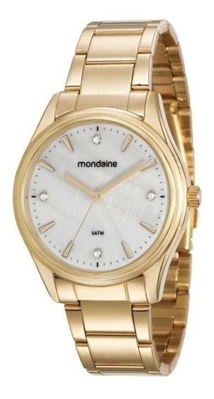 Relógio Mondaine Dourado Feminino 53568lpmvde2