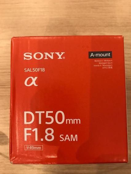 Lente Sony Dt50mm F1.8 Sam - Nova- Lacrada