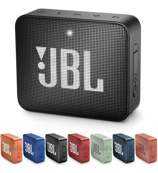 Caixa De Som Bluetooth Jbl Go 2 Original Nfe À Prova Dágua