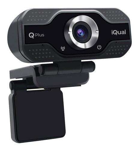 Camara Web Webcam Iqual Iqplus Full Hd 1080p Win Mac Promo