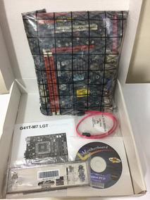 Kit Placa Mãe 775 Ddr3 G41t-m7+core 2 Duo E8400 + 8gb Ddr3