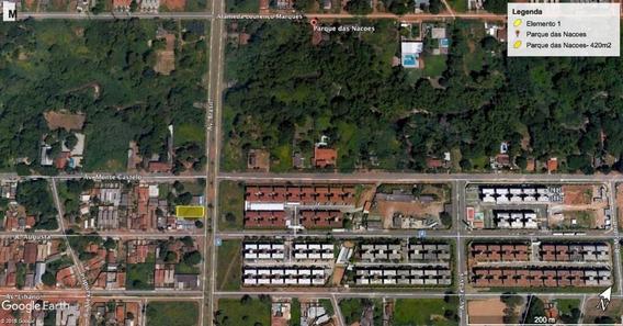 Terreno À Venda, 420 M² Por R$ 180.000 - Parque Das Nações - Aparecida De Goiânia/go - Te0635