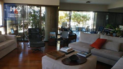 Imagem 1 de 29 de Apartamento Com 4 Dormitórios À Venda, 285 M² - Panamby - São Paulo/sp - Ap0932