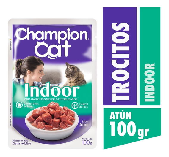 Champion Cat Pouch Indoor 24 X 100 G