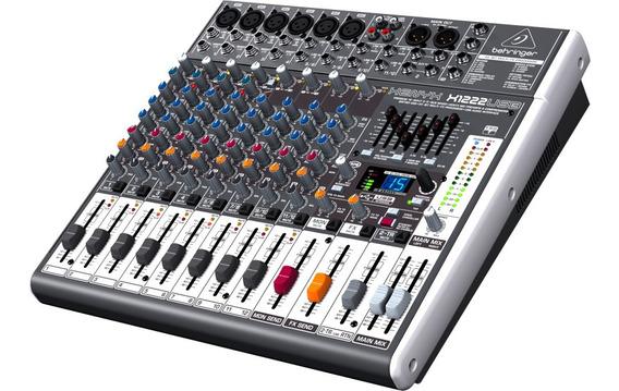 Mixer Xenyx Bivolt X1222usb Behringer Nfe