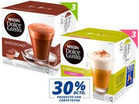 Oferta 30% Corta Fecha 6 Cajas Cappuccino Skinny Y Chococino