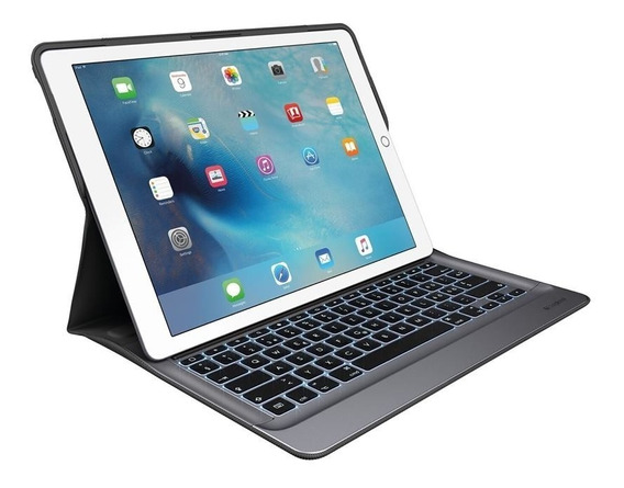 Capa Teclado Retroiluminado Logitech P/ iPad Pro 12.9 A1584
