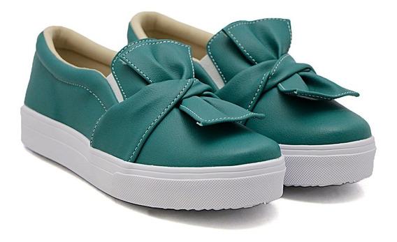 Slip On Dk Shoes Sola Baixa Laço Colors Adulto E Infantil
