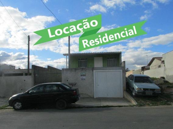 Casa Com 2 Dormitórios Para Alugar, R$ 500/mês Rua Olavo Nunes De Almeida, 375 - São Marcos - São José Dos Pinhais/pr - Ca0177