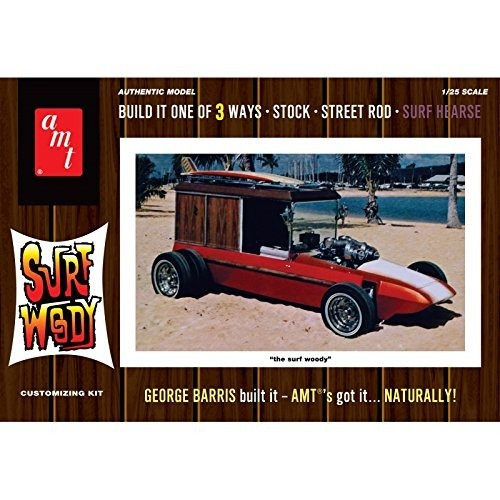 Amt 976 George Barris Surf Woody 1:25 Kit De Modelo De Plást