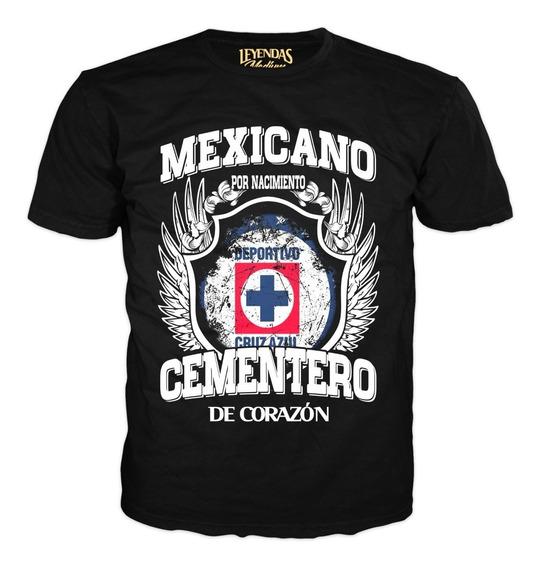 Playeras De Leyendas Cruz Azul, La Maquina Cementera Equipos