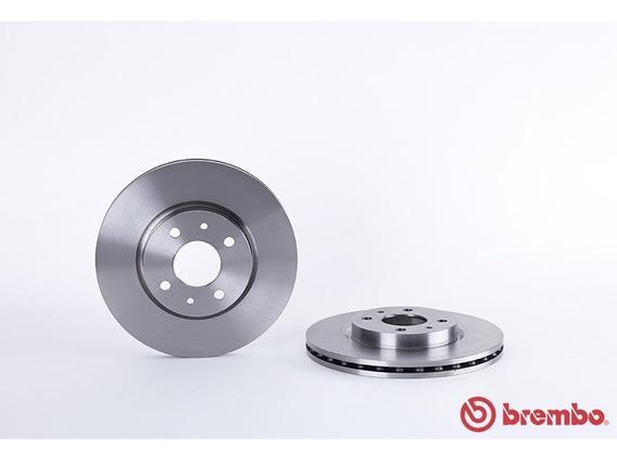2 Discos Brembo Ventilados (d) Brembo Fiat 500 09-17
