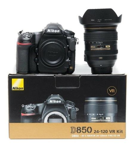 Imagen 1 de 3 de Nikon D850 Dslr With Af-s 24-120mm F4g Ed Vr Lens Kit