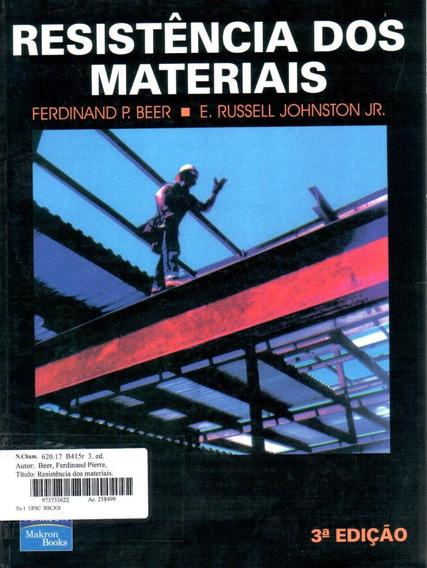 Livro Resolvido Resistência De Materiais - 3ª Edição - Beer