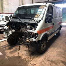 Renault Master 2.5 Furgon No Chocada Con Faltantes Financio