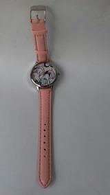 Relógio Infantil Pônei - Rosa Claro - Cod. 00337
