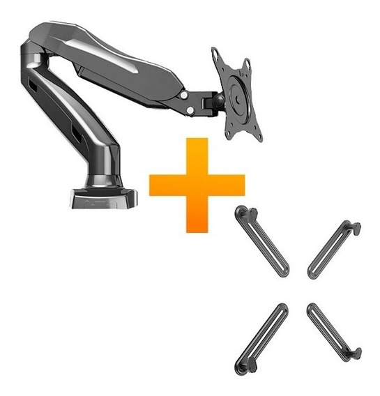 Kit Suporte Para Monitor F80n + Adaptador Sem Vesa Adpsv-x4