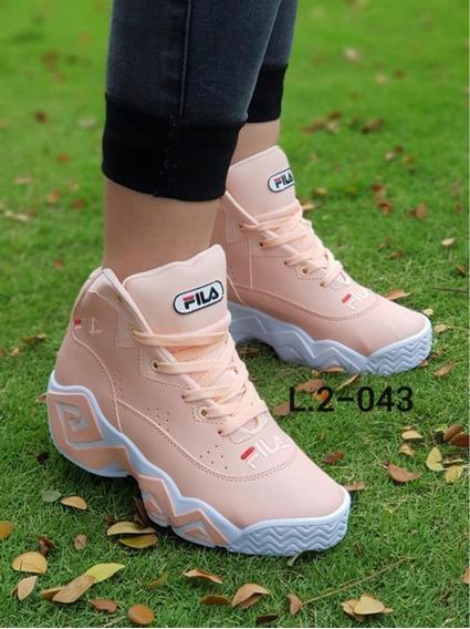 zapatillas fila botines