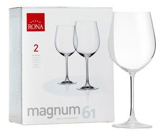 Copa De Cristal Rona Magnun 610ml X2 Unidades