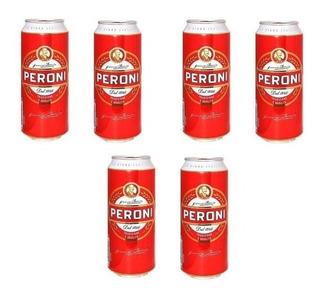 Cerveza Peroni Pack X 6 Latas X 500ml. - Envíos
