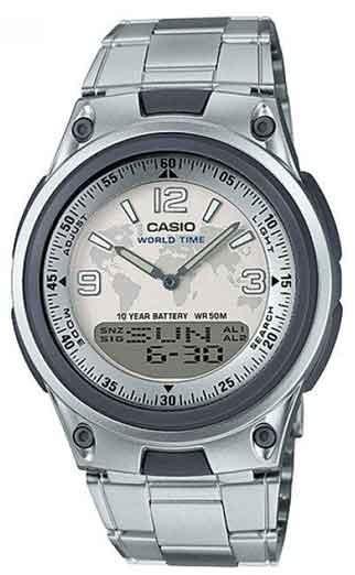 Relógio Casio Masculino Digi/ana Aw-80d-7a2vdf