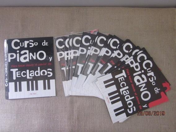 Curso De Piano Y Teclados 23 Fasciculos + Fitas K7
