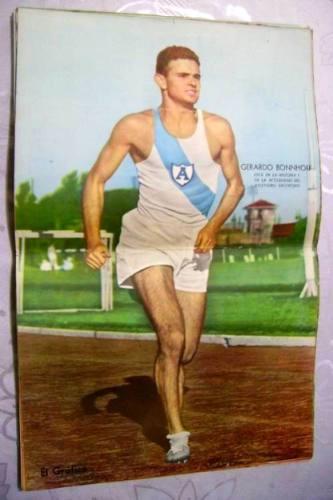 Lamina El Grafico - Gerardo Bonnhoff - Atletismo