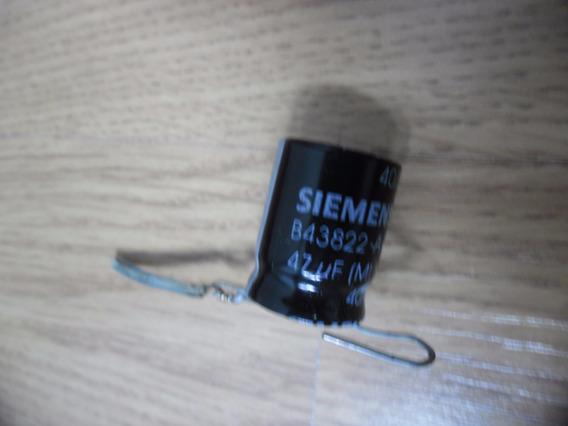 Capacitor Eletrolitico Siemens 47uf X 160v Envio Por Carta R