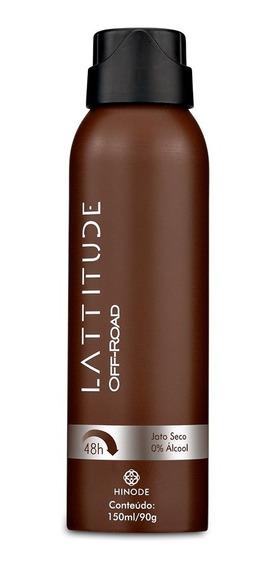 Desodorante Hinode Lattitude 48h 150ml / 90g