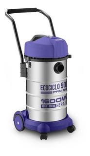 Aspiradora Yelmo Ecociclo Pro As-3350 50l Plata Y Violeta 22