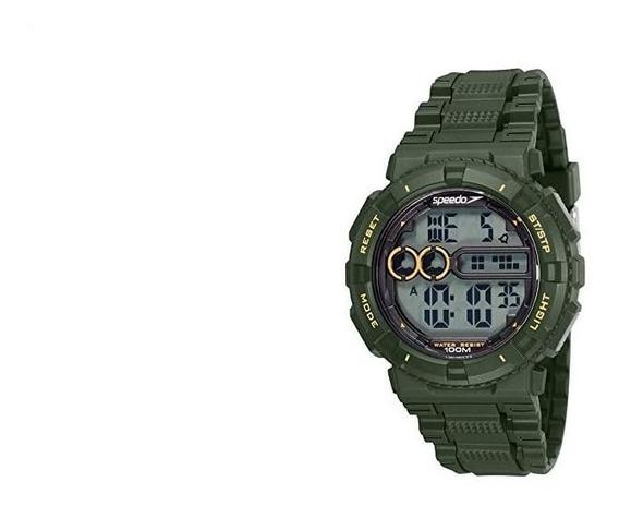 Relógio Speedo Masculino 80646g0evnp2 Militar Digital