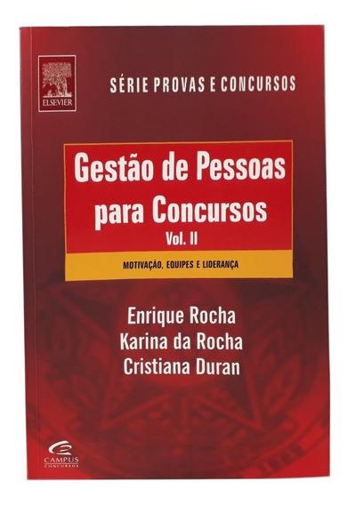 Gestão De Pessoas Para Concursos - Volume 2 - Envio Rápido