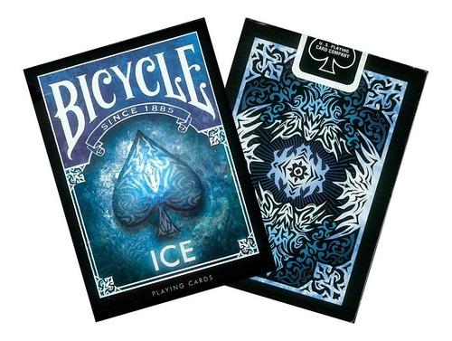 Imagen 1 de 3 de Baraja De Cartas Bicycle Ice