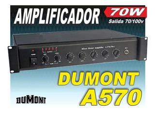 Amplificador Dumont Mixer Power A570