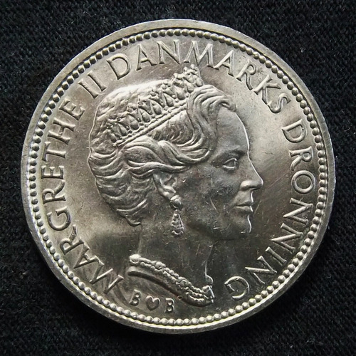 Dinamarca 10 Coronas 1979 Exc Km 864.1