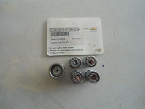Kit Anti Furto Para Rodas Onix/cobalt/spin/cruze/prisma