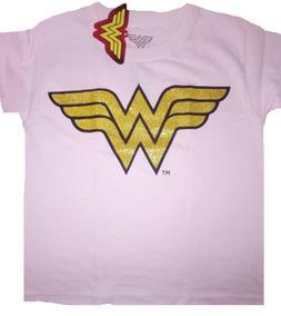 Playera Niña Wonder Woman Dc Comics Original Envío Gratis