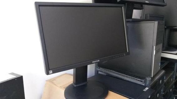 Monitor Led 20 Pol´ Dvi/vga Seminovo Na Caixa