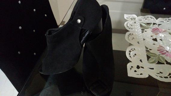 Sapato Em Camurça, Original, Moleca, Super Confortável