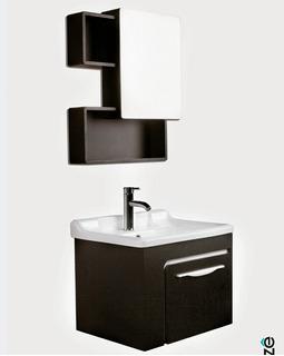 Mueble Para Baño Con Llave Y Espejo Modelo Versalles