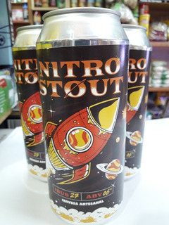 Cerveza Dust Nitro Stout Lata 473 Ml ,artesanal