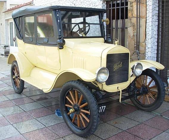 Ford T 1925 Amarillo Lanzarote Excelente Estado